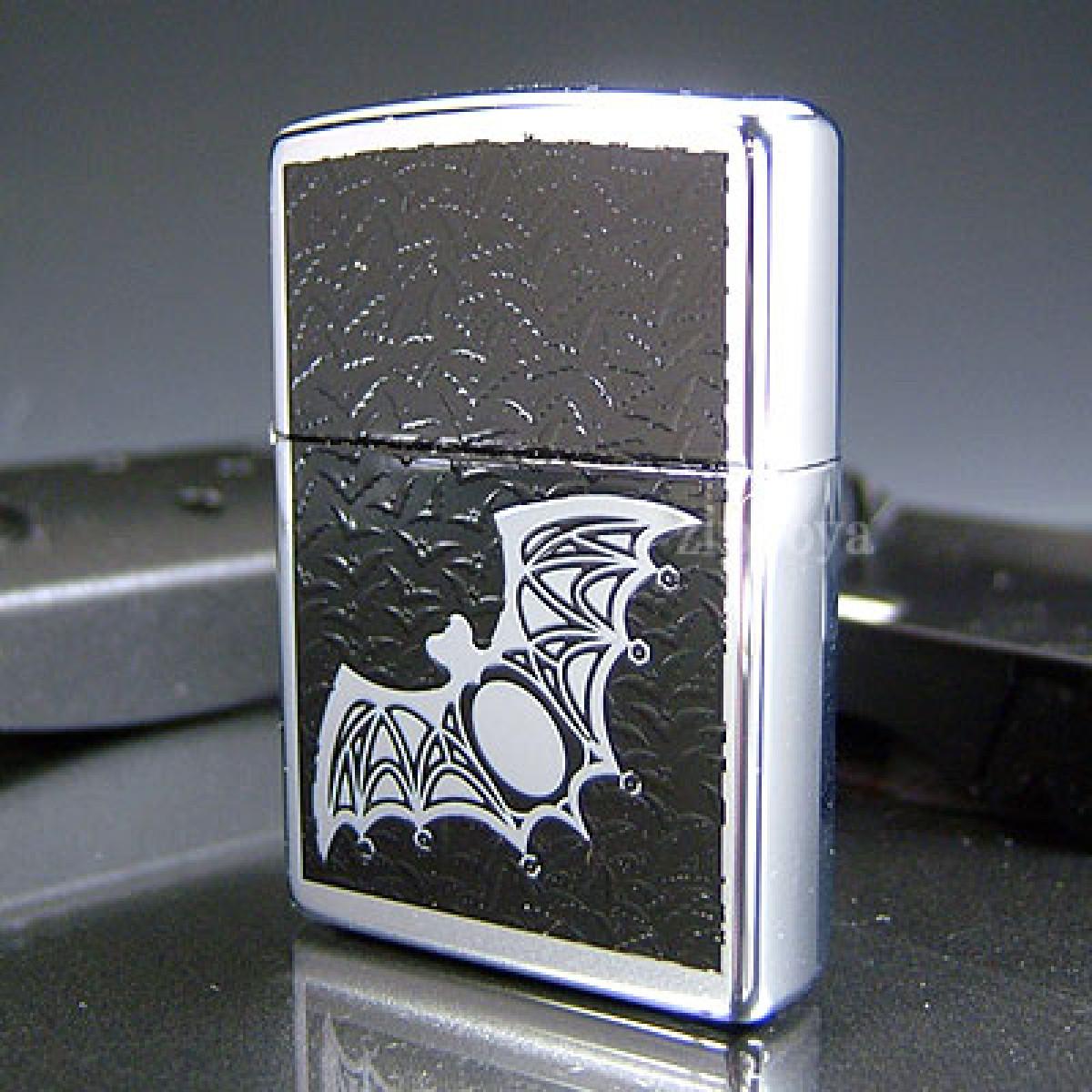 Flocking Bats Zippo Lighter
