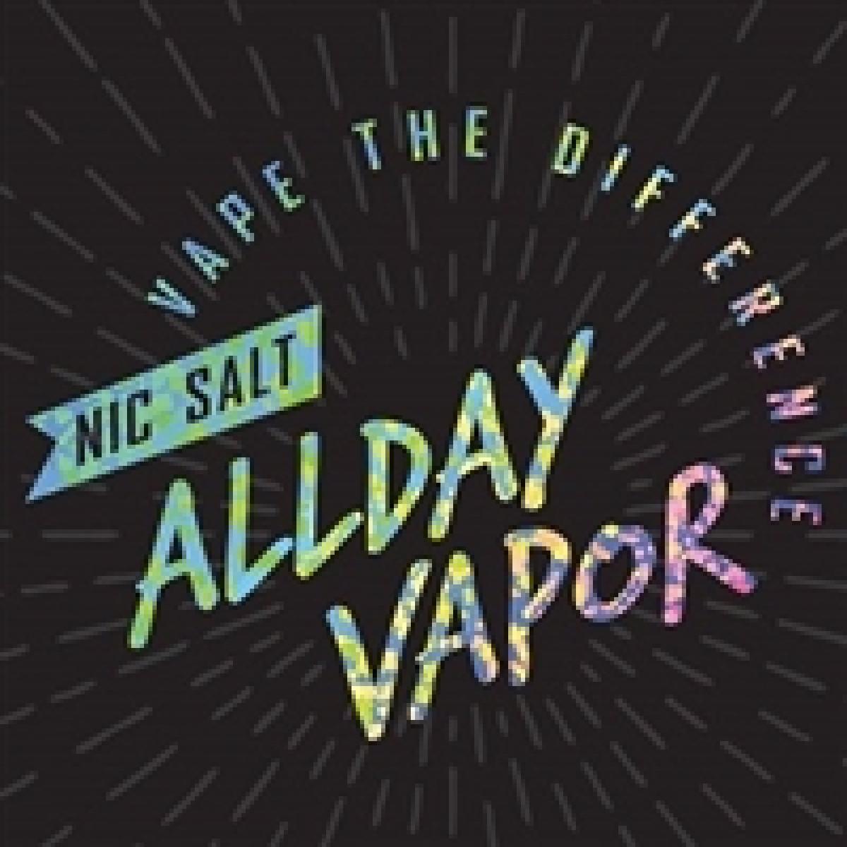 All Day Vapor Salt Nicotine