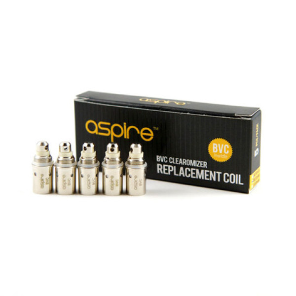 AspireBVCClearomiserReplacementCoil(Pack)