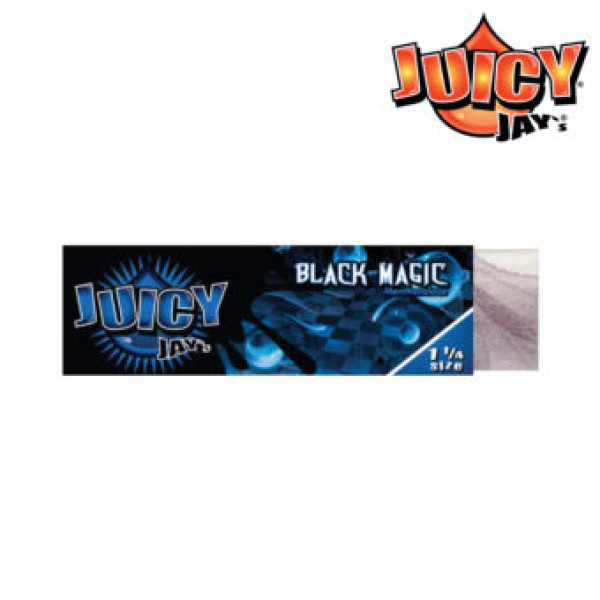 Black Magic Mentholicious Juicy Jay Papers 1 1/4