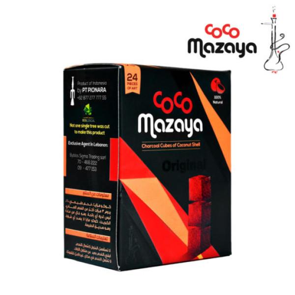 COCO MAZAYA 24MM COCONUT CHARCOAL