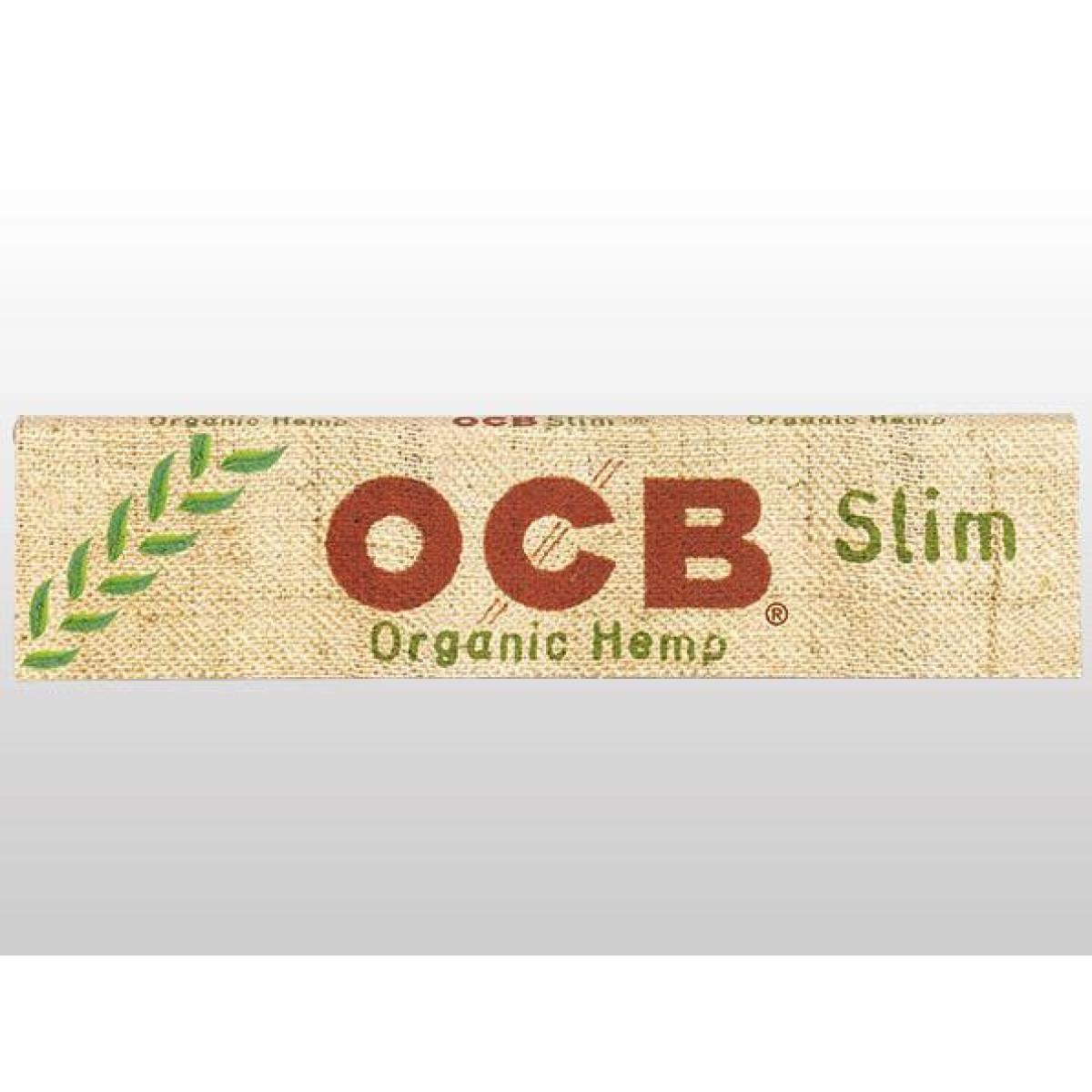 OCB ORGANIC HEMP KINGSIZE SLIM