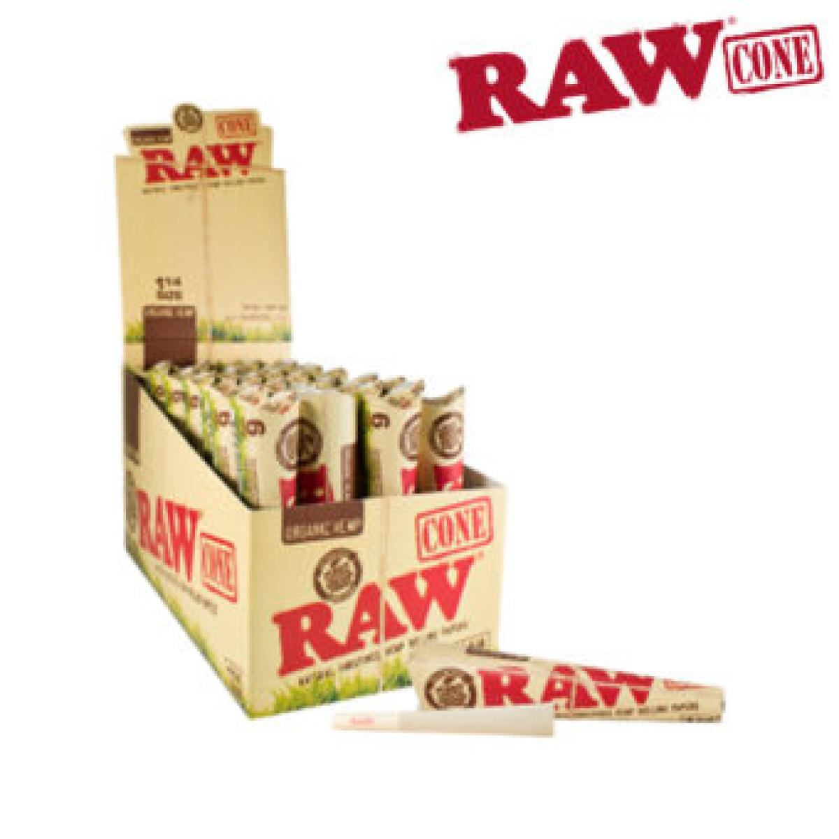 RAW ORGANIC PRE-ROLLED CONE 1¼