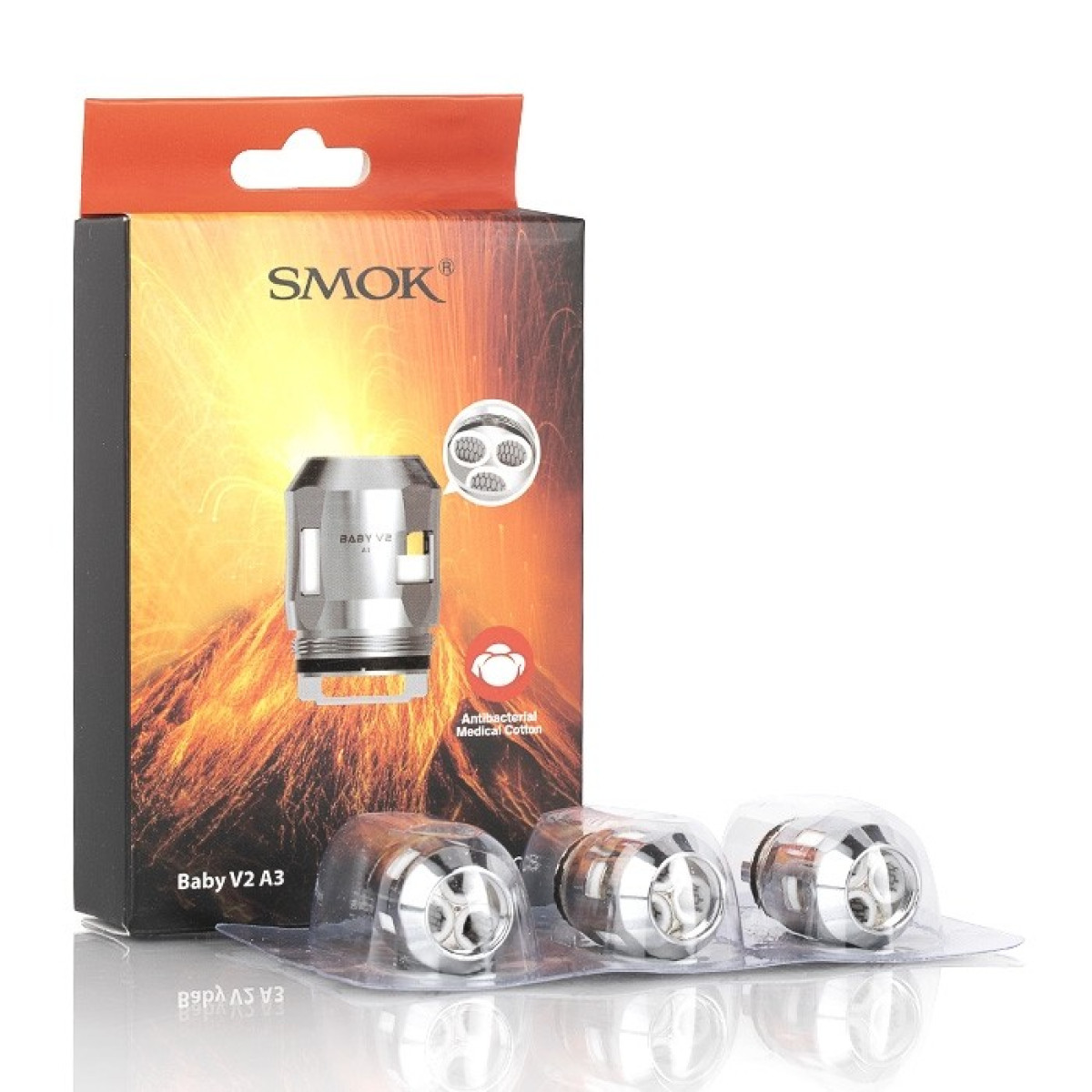 SMOK TFV8 BABY V2 A3 COILS