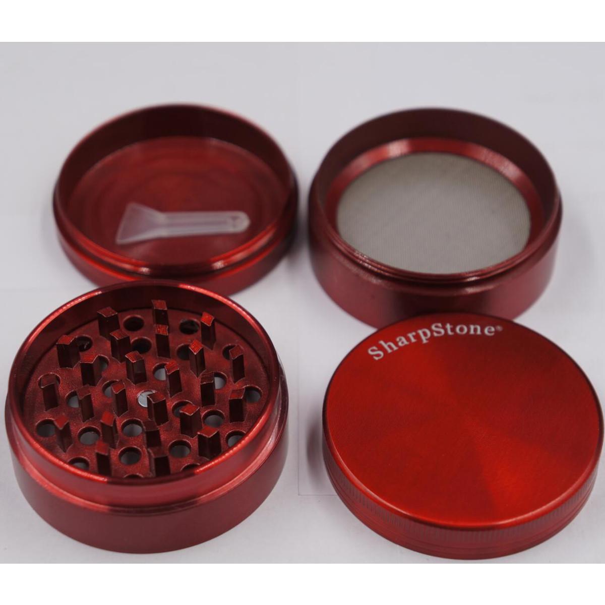coloured metal grinder