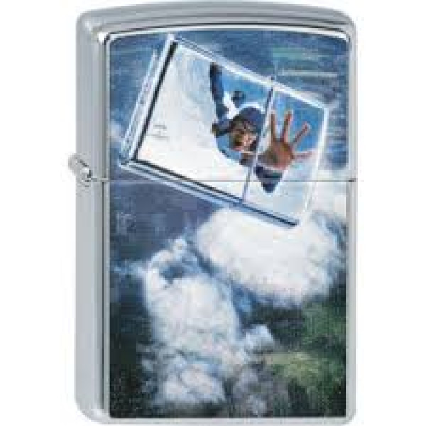 Sky Diver Zippo Lighter