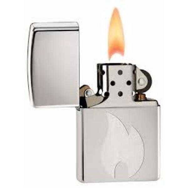 Reg H Pol Brass Zippo Lighter