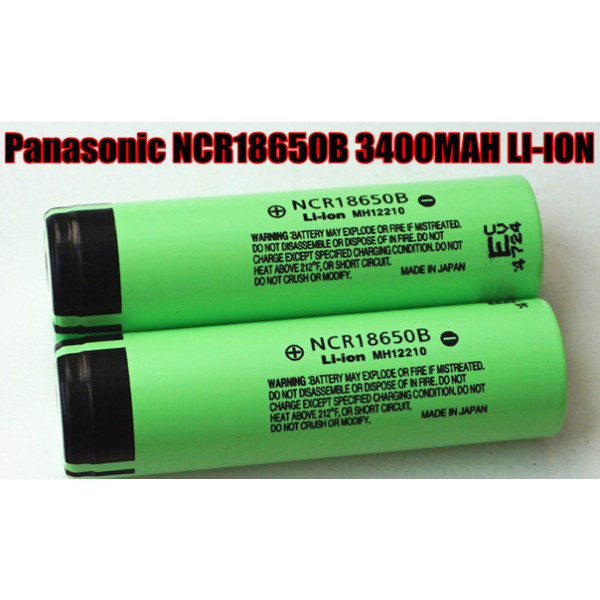 Panasonic 18650 Li-ion 3400mAh Battery