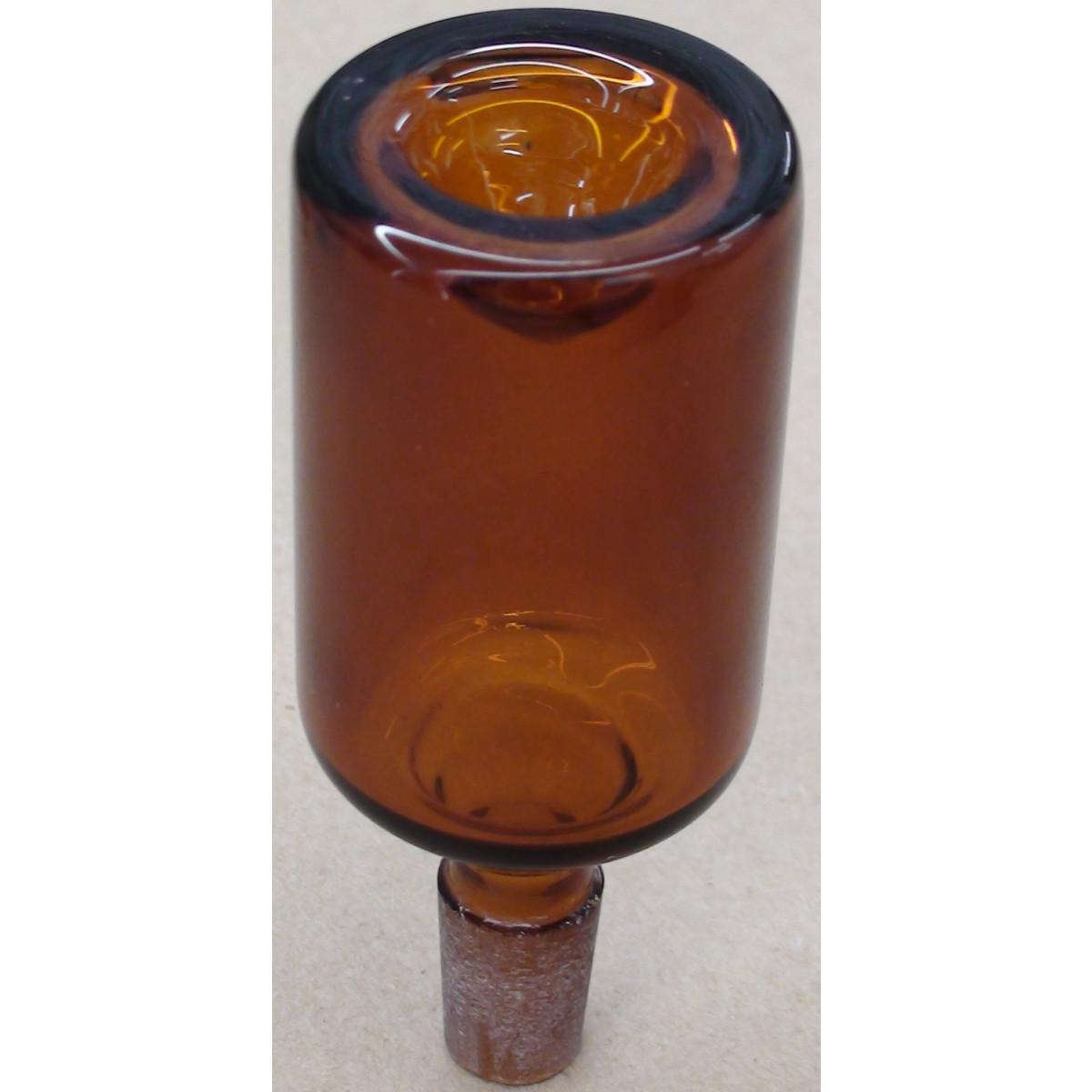 long amber bowl