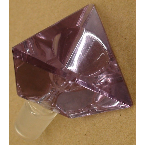 purple triangle Bowl