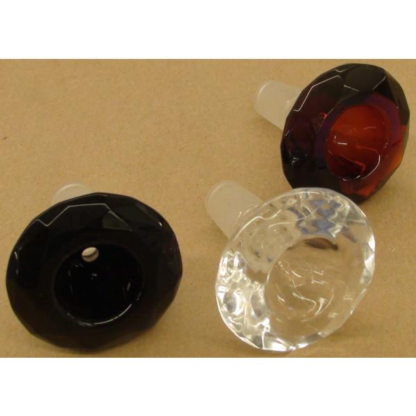 Amber Round Diamond Small