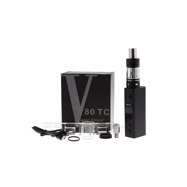 Vapor Storm Box Mod Kit 80W (no Cell)